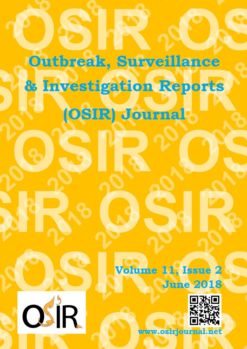 Bayesian Statistics in Epidemiological Investigations   OSIR